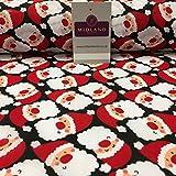 Mtex Weihnachten Festliche Weihnachtsmann Gedruckt
