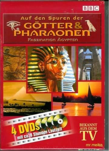 Auf den Spuren der Götter Pharaonen - Faszination Ägypten - 4 DVD Box