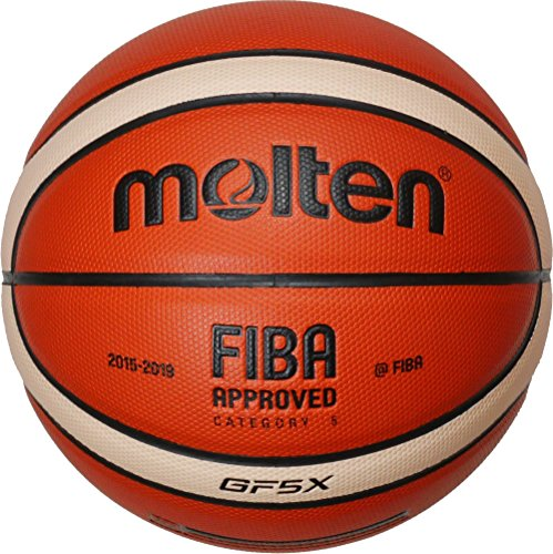 Molten Basketball, Orange/Ivory, 6, BGF6X-DBB