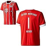 adidas FC Bayern München FCB Kinder Home Trikot 2017 2018 Manuel Neuer 1 Gr 140