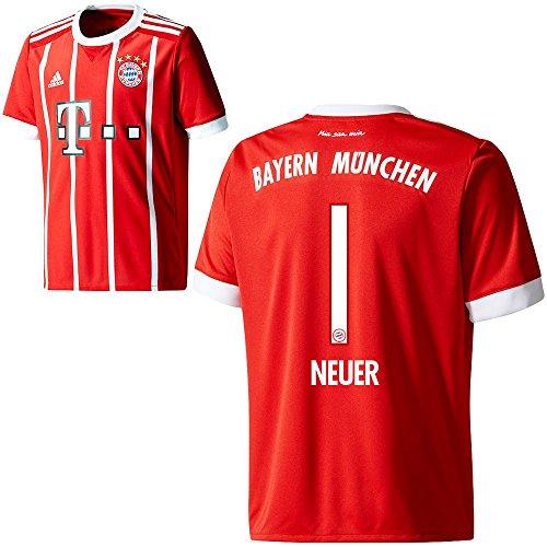 adidas FC Bayern München FCB Kinder Home Trikot 2017 2018 Manuel Neuer 1 Gr 128