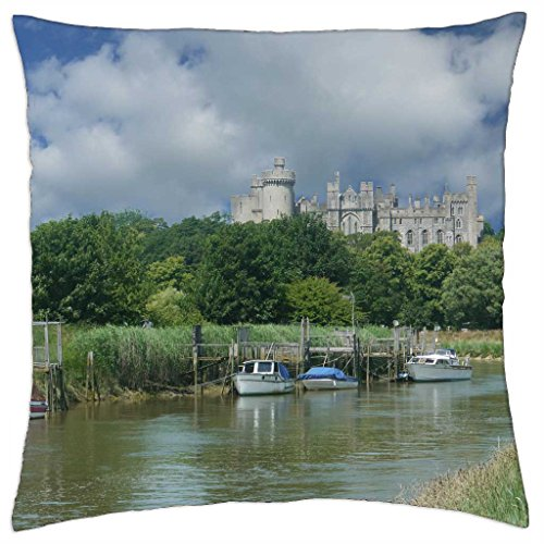 arundel-castle-and-river-arun-throw-pillow-cover-case-18-x-18