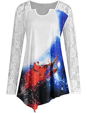 EUZeo_Women Blouse - Camicia - Moda - Maniche lunghe  -  donna