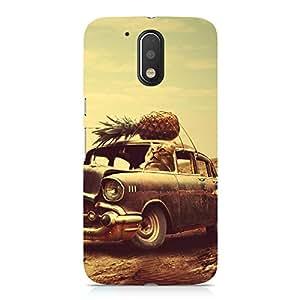 Hamee Designer Printed Hard Back Case Cover for Motorola Moto G4 Play Design 1536
