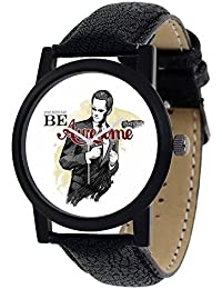Swadesi Stuff Exclusive Stylish Black Dial Analog Watch For Men & Boys