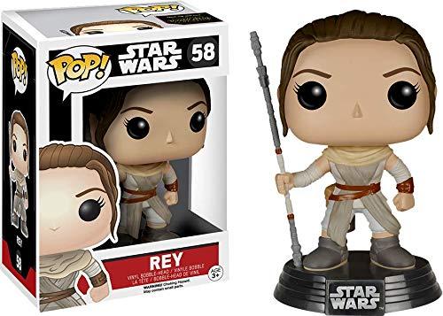 Funko Pop Rey Bobblehead (Star Wars 58) Funko Pop Star Wars
