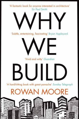 Why We Build by Rowan Moore (2013-04-25)