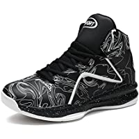 hot sale online 6f79c e3783 LANSEYAOJI Hombre Zapatillas de Baloncesto Calzado Deportivo Al Aire Libre  Moda High-Top Sneaker Antideslizante