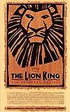 El Rey León The Broadway Musical de Broadway Póster en 11 x 17 - 28 cm x 44 cm