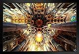 Poster Gießerei Divine Light La Sagrada Familia