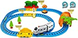 #3: Saffire Kids Starter Train with Intelligent Sensing and Dialog with Light Effects, Multi Color
