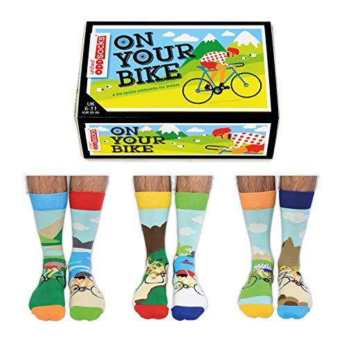 On Your Bike Fahrrad Oddsocks Socken in 39-46 im 6er Set - Strumpf