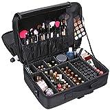 Vin beauty Caso portatile di trucco Cosmetic Bag Organizer Professionale Stoccaggio Pouch Valigia Grande