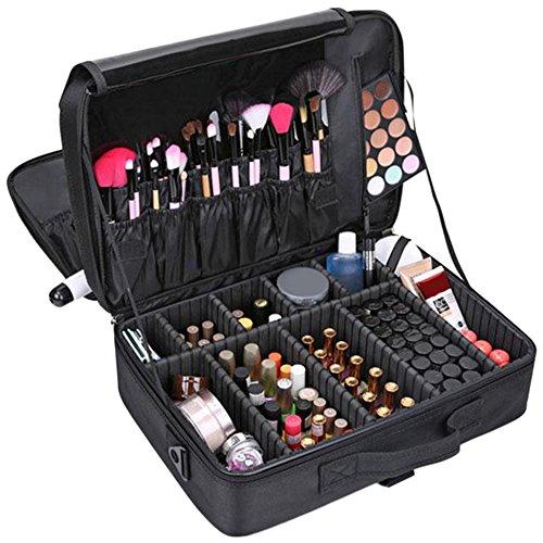 Vin beauty Caso portatile di trucco Cosmetic Bag Organizer Professionale Stoccaggio Pouch Valigia
