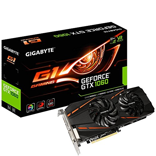 Gigabyte GeForce GTX 1060 G1 Gaming 3G 3 GB GDDR5