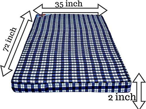 SUGANDHA Pure Pu Foam Mattresses 2 inch Single PU Foam Mattress (Extraordinarily Soft Cum Foldable) Image 3