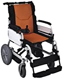 SCURE Lithium Battery Operated Power Wheelchair (Black and Orange)