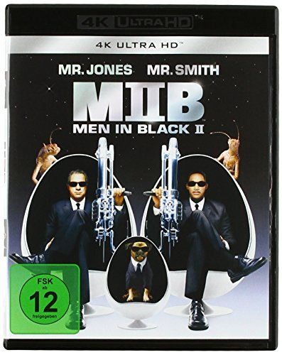 Men In Black II (4K Ultra HD) [Blu-ray]