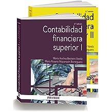 Pack- Contabilidad financiera superior (Economía Y Empresa)
