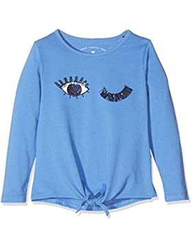 Tom Tailor Kids Longsleeve with Print and Knot, Camiseta para Niñas