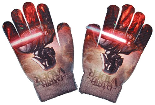 Disney Star Wars Kinder ONE SIZE Handschuhe (Rot)