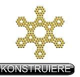 ODEEN 108 Kugelmagnete NEODYM - ULTRASTARK-5mm - Extra starke kleine Mini-Magnete für Whiteboard, Kühlschrank, Magnettafel, Magnetstreifen, Pinnwand und für die Werkstatt (Schwarz) -