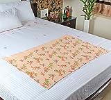 #4: MOSGARD- Mosquito Repellent Blanket (Floral PeachA-S)