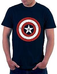 4e03db2d30b1 The Souled Store Men s Cotton Avengers Captain America T-Shirt