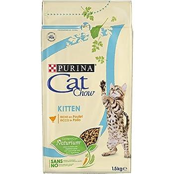 Cat Chow Kitten Croquettes pour Chatons Pack de 1,5 Kg