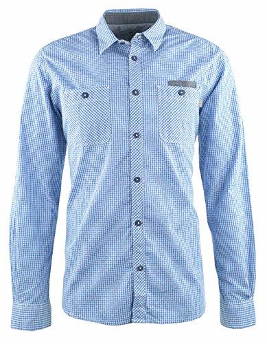 Tom Tailor Hemd blau kariert Blau