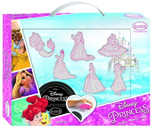 Aladine Princess MA Valise DE TAMPONS Princesses Disney, 61103
