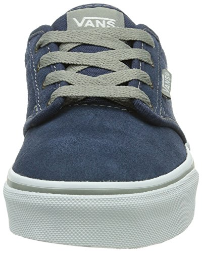 Vans Y Atwood, Baskets mode mixte enfant Bleu (Suede Pacific F1W)