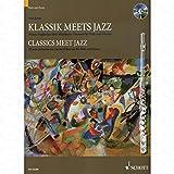 Clásico meets Jazz 1–Arreglados para flauta travesera–Piano–con CD [de la fragancia/Alemán] Compositor: grano Uwe