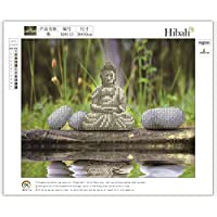 30X36CM budismo paisaje del modelo del diamante Pintura 5D bordado de la costura