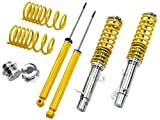 FK Automotive SMFO9005 Gewindefahrwerk von FK Version AK-Street für Ford Focus (DAW/DBW/DFW) Bj. 10.98 - Komplettes Set VA/HA