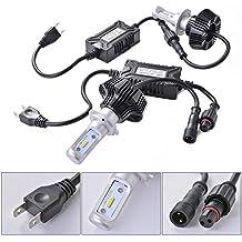 XCSOURCE® 2x H7 LED Faro Bombillas de luces LED 72W 7600Lm LED lámpara Faro Kit de faros Alto 6000K para el coche vehículo