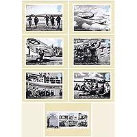 2015Battle of Britain 75TH Anniversary Royal Mail–Set di 404menta (set of 7Royal Mail Postcards)