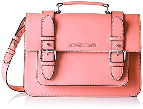 ARMANI JEANS Womens 9222137P772 Shoulder Handbag, Coral, One Size