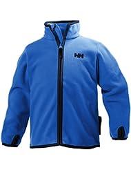 Helly Hansen Daybreaker–Forro Niños K chaqueta forro polar, Racer azul, 1