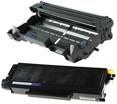 Toner TN3170 mit Trommel DR3100 kompatibel für Brother DCP-8060 DCP-8065DN HL-5240 HL-5250 HL-5250DN HL-5270DN HL-5270DN2LT HL-5280DW MFC-8460 MFC-8460N MFC-8860DN MFC-8870DW - Schwarz, hohe Kapazität (Brother-drucker 8460n)