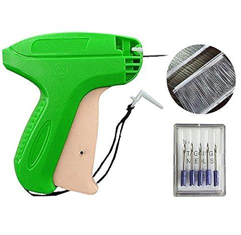 Heftpistole Etikettierpistole Etikettiermaschine Tagging Gun + 5
