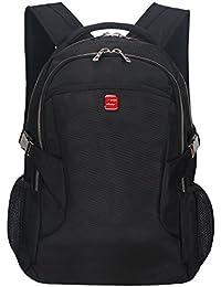 "Winkee BB4345MBK - Mochila de transporte para ordenador portátil 15,6"" , Negro"