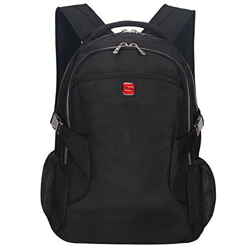 """Winkee BB4345MBK Zaino per computer portatile fino a 15.6"""" Nero"""
