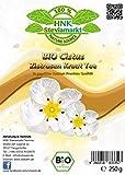 HNK Bio Zistrosenkraut - Cistus incanus Tee, (250g) | ohne Zusätze - Zistrosentee Cistustee naturbelassen - Premium Qualität