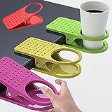 Bluelover Tisch Schreibtisch Cup Halter Clip Getränk Kaffee Halter Clip