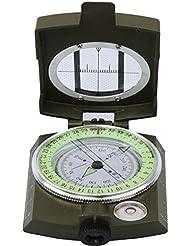 Precisión Esencial De Emergencia Portátil De Escalada Al Aire Libre Mesa De La Brújula Brújula,Green