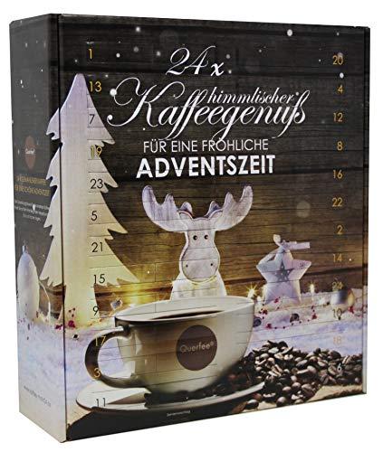 Kaffee Adventskalender mit gemahlenem Kaffee von Querfee®