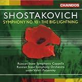 Shostakovich: Symphony 10 / The Big Lightning