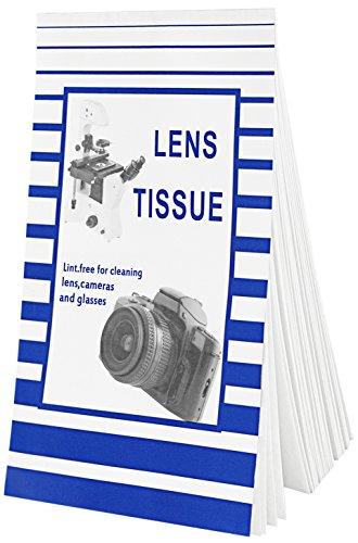 Neewer® Kamera-Objektiv-Reinigungstuch & Tuch Set: 15 Hefte Einweg-Linsenreinigungspapier fusselfreies Gewebe (Jedes Heft enthält 50 Blätter) + Ultra-Leichte Mikrofaser-Reinigungstuch -