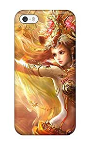 Durable Woman Sorcerer Back Case/cover For Iphone 5/5s